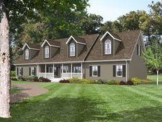 the belmont rb545a rockbridge modular home a beautiful cape cod home the dormers - Deckideen Fr Modulare Huser