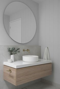 Modern Bathroom Design, Bathroom Interior Design, Bathroom Styling, Lighting In Bathroom, Minimal Bedroom Design, New Bathroom Designs, Light Bathroom, Master Bathroom, Bad Inspiration