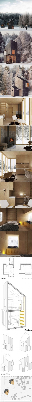 Super concept…j'imagine un village de ces micro-maisons…avec des panneaux…