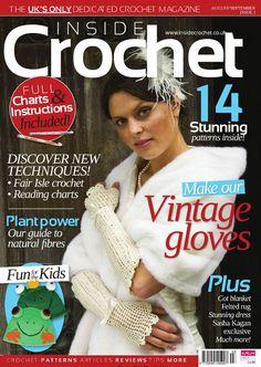 Inside crochet by on issuu. Crochet Cross, Crochet Round, Crochet Chart, Filet Crochet, Crochet Magazine, Knitting Magazine, Crochet Designs, Crochet Patterns, Reading Charts