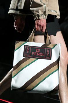 Fendi Men's Spring/Summer 2019 Collection designed by Creative Director Silvia Venturini Fendi.