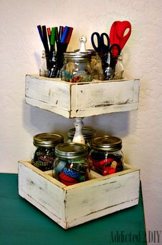 check out this huge list of mason jar hacks find ideas for everything from to gift ideas to decorating in this massive round up
