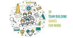 Resultado de imagen de team building games