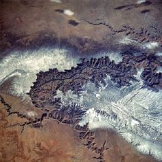 The Grand Canyan as seen from space. Evidence of Electric Discharge Machining on Earth?