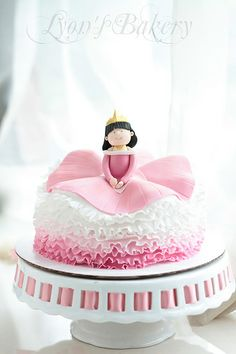 gorgeous princess cake