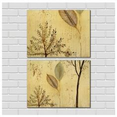 White Tree Twig Branch Art Ideas With Brown Background Board And ...