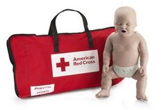 Medium Skin Infant Manikin (with CPR Monitor) @ Red Cross Store