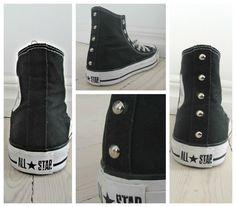 Studs and All Stars. Get your studs at lilyjoe.se and Do It Yourself. It's so easy!!