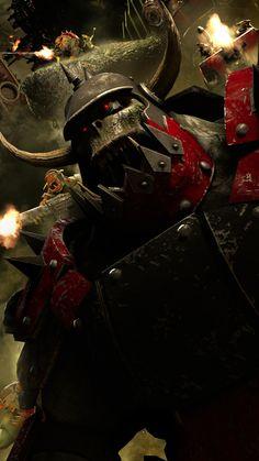 The Big boy by ThePerfectG on DeviantArt Orks 40k, Big Boys, Darth Vader, Deviantart, Fictional Characters, Fantasy Characters