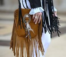 Obsessed with fringing #ysl #parisstreetstyle #covetme