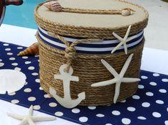 Wedding Card Holder Beach or Nautical Theme Event por ChiKaPea