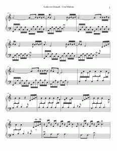 """Full version of the Ludovico Einaudi's extended Una Mattina theme (""""Una Mattina Variations"""") from The Intouchables soundtrack This full version is not included in the official Una Mattina sheet music album Easy Piano Sheet Music, Piano Music, The Intouchables, Irish Folk Songs, Smoke On The Water, Song Of The Sea, Music Albums, Coldplay, Pirates Of The Caribbean"""