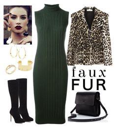 """Faux Fur"" by susan0219 ❤ liked on Polyvore featuring STELLA McCARTNEY, Maison Margiela, Jimmy Choo, Lana, Morra Designs, Kate Spade and fauxfurcoats"