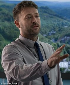 British actor Paul Nicholls  In 2017 he has starred in the likes of Law and Order: UK and Holby City, as well as  Channel 4's Ackley Bridge