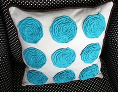 diy Target Flower Pillow Tutorial