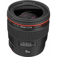 Canon EF 35mm f/1.4L USM Wide-Angle Autofocus Lens... you are pretty sweet... don't want to mail you back tomorrow :o(