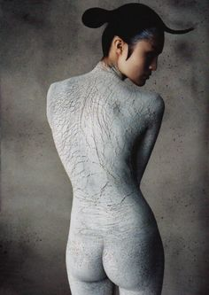Grey - Sui He photographed by Daniele + Iango for i-D Spring 2012