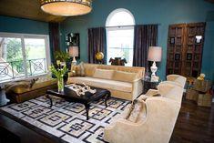 rooms designed my kim myles | Living room designed by Kim Myles. Photo courtesy of HGTV.