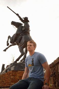 National Cowboy Museum logo tee