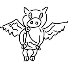 Sau Engel pig angel