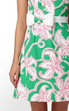 Lilly Pulitzer summer dress.