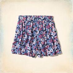 Bettys Hollister High Rise Culotte Shorts | Bettys Shorts | HollisterCo.com