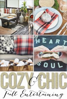 Cozy & Chic Fall Entertaining Ideas