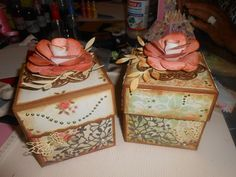vitange Decorative Boxes, Scrapbook, Home Decor, Projects, Decoration Home, Room Decor, Scrapbooks, Interior Design, Home Interiors