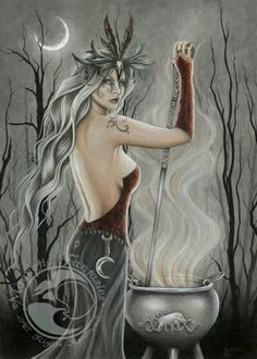 The goddess cerridwen, one of my favorites <3 goddess of the cauldron and guide to the other world