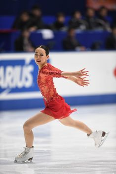 Mao Asada Photos Photos - Mao Asada of Japan competes in the Ladies free skating during the Japan Figure Skating Championships 2016 on December 25, 2016 in Kadoma, Japan. - Japan Figure Skating Championships 2016 - Day 3