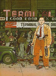 Hardboiled by Geoff Darrow and Frank Miller