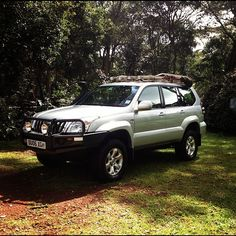 2010 Toyota Prado outfitted by Nene Overland. by ConserVentures, via Flickr