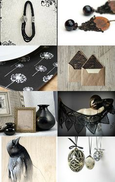 Some Black by Bea on Etsy--Pinned with TreasuryPin.com