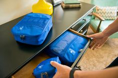 You don't have to be traveling to benefit from our Packing Cubes.