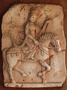 """Epona, the Gallo-roman Goddess of Horses, by Tony """"Frosty"""" Welch, via Flickr."""