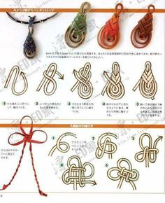 Decorative Knots And Braids Collection diy chinese knot pattern tutorial knots decorative knots Decorative Knots And Braids. Here is Decorative Knots And Braids Collection for you. Decorative Knots And Braids decorative knots learn how to tie dec. Jewelry Knots, Macrame Jewelry, Jewelry Crafts, Handmade Jewelry, Jewellery, Macrame Knots, Micro Macrame, Beaded Beads, Macrame Patterns