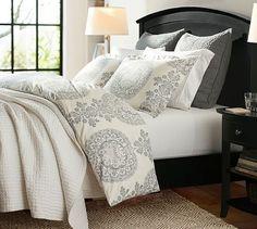 Lucianna Medallion Percale Duvet Cover Amp Sham Bedroom