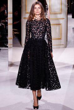 Giambattista Valli Spring 2013 Couture Fashion Show - Andreea Diaconu (IMG)