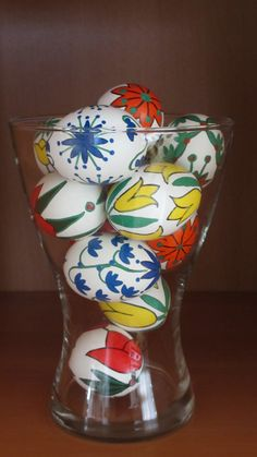 colorful easter egg decoration