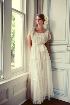 I actually really like this dress. For a simple, southern style wedding? Its not as formal as some of the other stuffy wedding dresses we see.