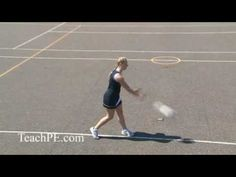Leaning (2nd Stage Defence) | Defensive Movement | Netball ...