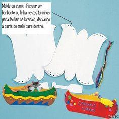 molde de canoas - Pesquisa Google