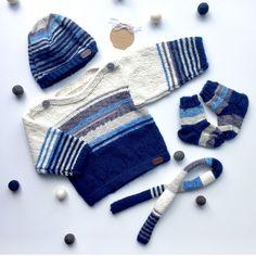 Ensemble le p'tit frileux Quebec, Babyshower, Winter Hats, Gloves, Baby Boy, Socks, Cold, Sweater, Knitting