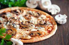 Домашняя пицца с грибами и курицей – простой рецепт приготовления