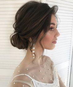 Bridal Hair Updo, Bridal Hair Vine, Bridal Hair And Makeup, Wedding Hair Pieces, Wedding Hair And Makeup, Korean Wedding Hair, Crown Hairstyles, Bride Hairstyles, Wedding Hair Inspiration