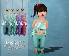 Laina Top & Pants V1