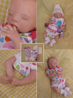 LAST DAY of SALE! Open Mouth, reborn baby girl, preemie,Takes a full Gumdrop Pacifier, ready to come home!
