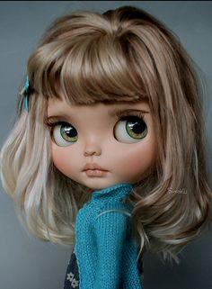 Pretty Dolls, Beautiful Dolls, Ooak Dolls, Blythe Dolls, Foto Baby, Doll Repaint, Little Doll, Dollhouse Dolls, Custom Dolls