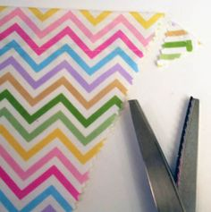 DIY: Chic Pennant Banner   Project Nursery