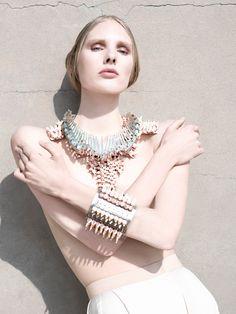 Heavenly statement jewels from Heaven Tanudiredja - Fashionising.com